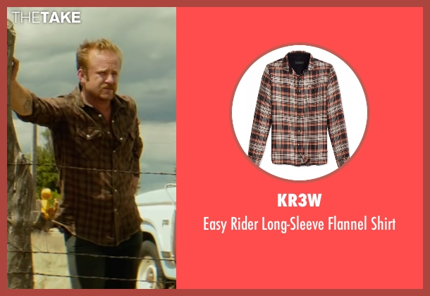 Kr3w brown shirt from Hell or High Water seen with Ben Foster (Tanner)