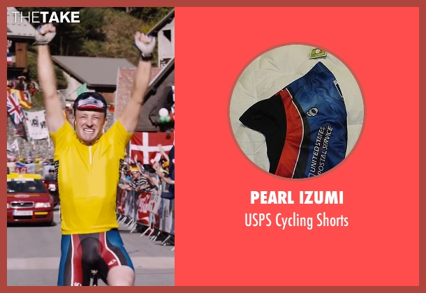 Pearl Izumi black shorts from The Program seen with Ben Foster (Lance Armstrong)