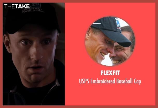 Flexfit blue cap from The Program seen with Ben Foster (Lance Armstrong)