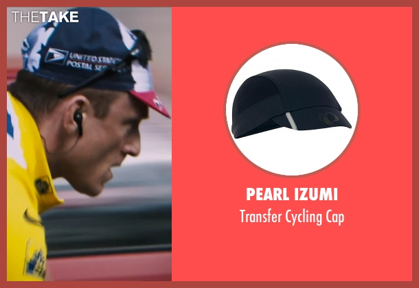 Pearl Izumi cap from The Program seen with Ben Foster (Lance Armstrong)