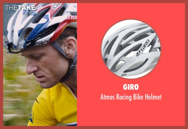 Giro helmet from The Program seen with Ben Foster (Lance Armstrong)