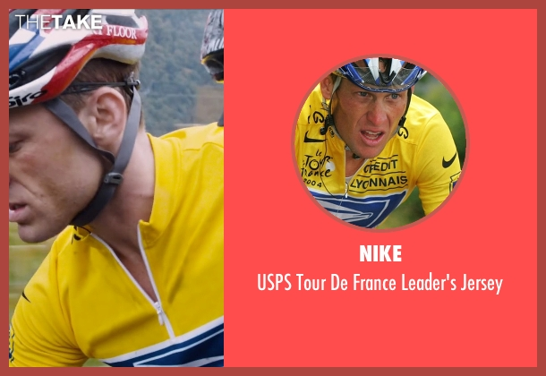 Nike yellow jersey from The Program seen with Ben Foster (Lance Armstrong)