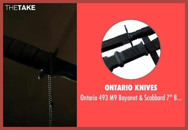 Ontario Knives handle from Iron Man 3 seen with Ben Kingsley (Trevor Slattery)