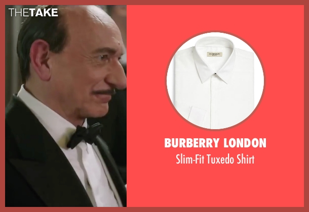Burberry London white shirt from Life seen with Ben Kingsley (Jack Warner)