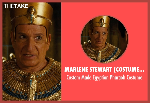 Marlene Stewart (Costume Designer) costume from Night at the Museum: Secret of the Tomb seen with Ben Kingsley (Unknown Character)