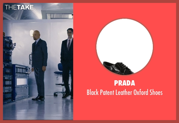Prada black shoes from Self/Less seen with Ben Kingsley (Damian)