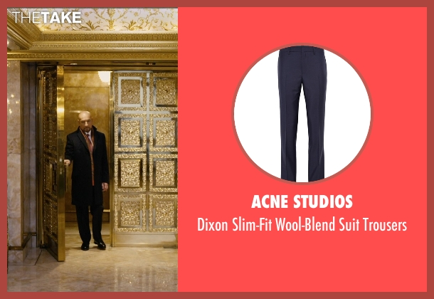 Acne Studios black trousers from Self/Less seen with Ben Kingsley (Damian)