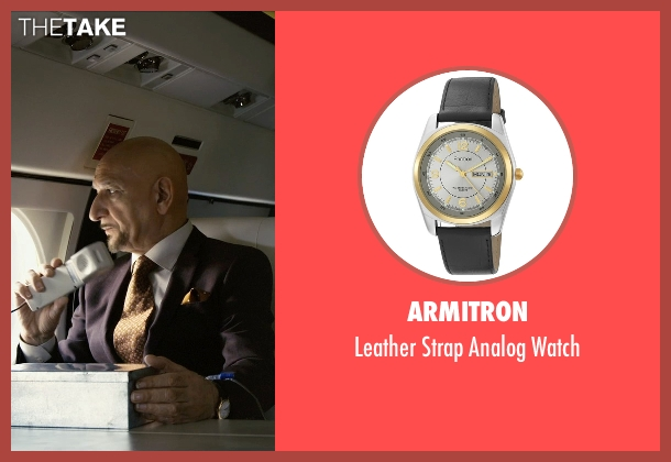 Armitron black watch from Self/Less seen with Ben Kingsley (Damian)