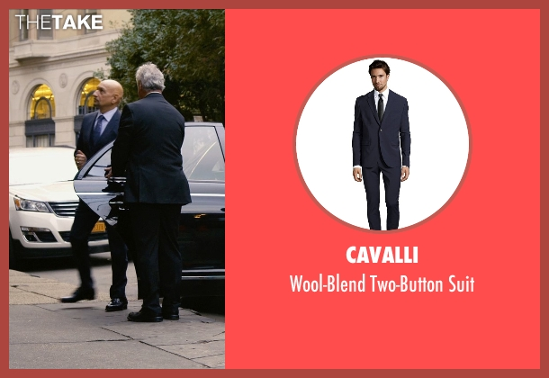 Cavalli blue suit from Self/Less seen with Ben Kingsley (Damian)