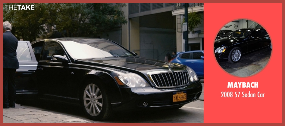 Maybach car from Self/Less seen with Ben Kingsley (Damian)