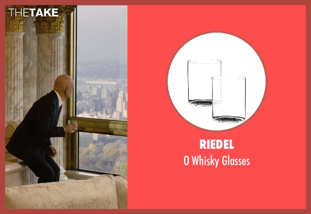 Riedel glasses from Self/Less seen with Ben Kingsley (Damian)