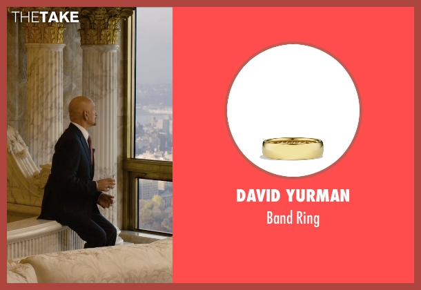 David Yurman gold ring from Self/Less seen with Ben Kingsley (Damian)