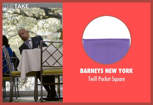 Barneys New York purple square from Self/Less seen with Ben Kingsley (Damian)