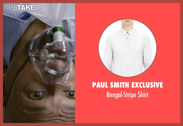 Paul Smith Exclusive white shirt from Self/Less seen with Ben Kingsley (Damian)