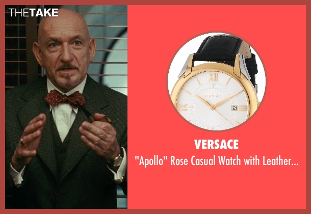 Versace gold band from Shutter Island seen with Ben Kingsley (Dr. Cawley)