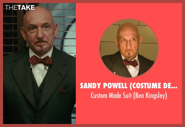 Sandy Powell (Costume Designer) gray suit from Shutter Island seen with Ben Kingsley (Dr. Cawley)