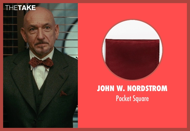 John W. Nordstrom red square from Shutter Island seen with Ben Kingsley (Dr. Cawley)