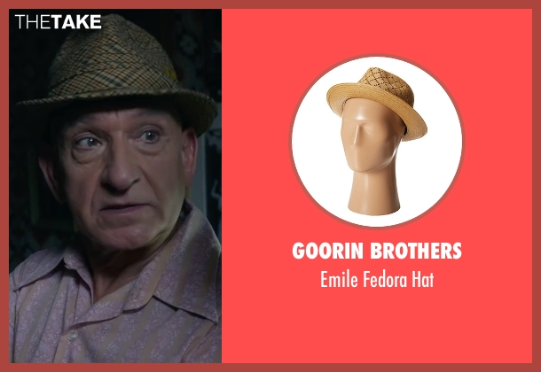 Goorin Brothers brown hat from The Walk seen with Ben Kingsley (Unknown Character)
