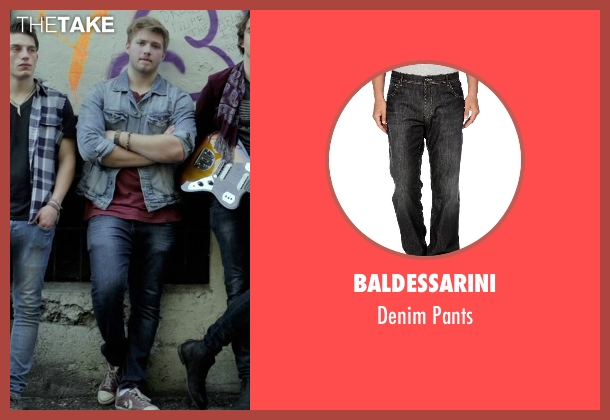 Baldessarini black pants from If I Stay seen with Ben Klassen (Willamette Stone Band)