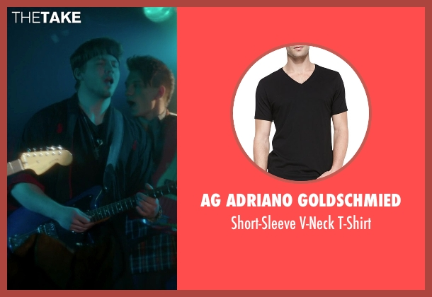 AG Adriano Goldschmied	 black t-shirt from If I Stay seen with Ben Klassen (Willamette Stone Band)