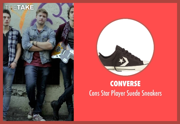 Converse brown sneakers from If I Stay seen with Ben Klassen (Willamette Stone Band)