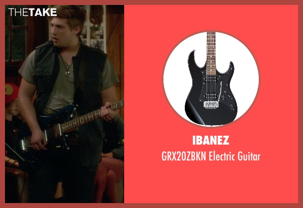 Ibanez guitar from If I Stay seen with Ben Klassen (Willamette Stone Band)