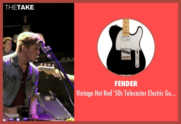 Fender guitar from If I Stay seen with Ben Klassen (Willamette Stone Band)