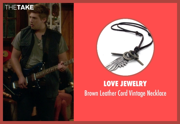 Love Jewelry silver necklace from If I Stay seen with Ben Klassen (Willamette Stone Band)
