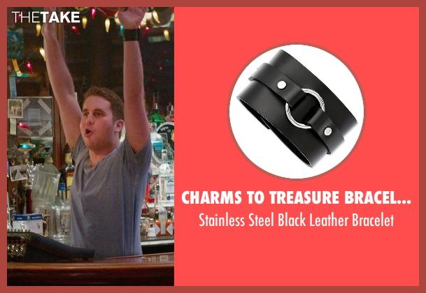 Charms To Treasure Bracelets black bracelet from Ricki and the Flash seen with Ben Platt (Daniel)