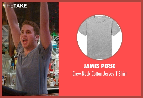 James Perse gray t-shirt from Ricki and the Flash seen with Ben Platt (Daniel)