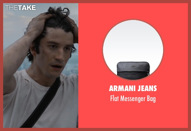 Armani Jeans black bag from The Walk seen with Ben Schwartz (Albert)