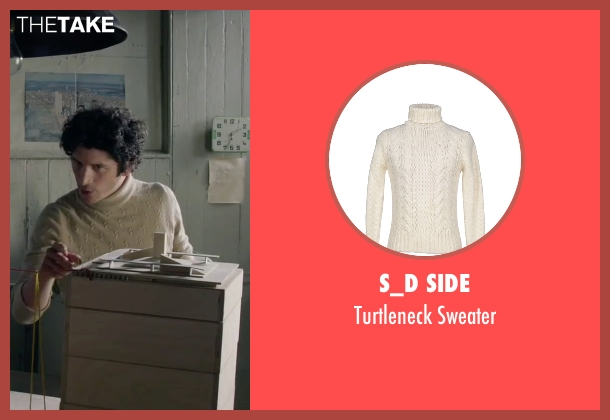 S_D Side white sweater from The Walk seen with Ben Schwartz (Albert)