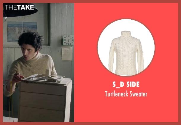 S_D Side white sweater from The Walk seen with Ben Schwartz (Albert)