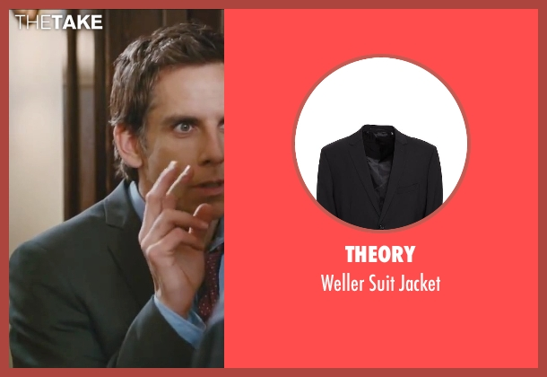 Theory black jacket from Little Fockers seen with Ben Stiller (Greg Focker)