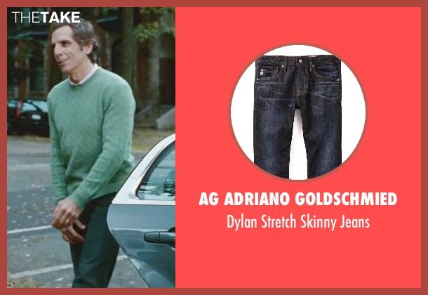 AG Adriano Goldschmied black jeans from Little Fockers seen with Ben Stiller (Greg Focker)