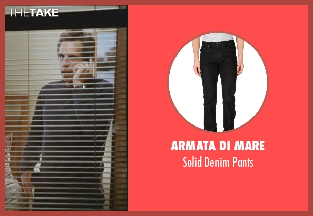 Armata Di Mare black pants from Little Fockers seen with Ben Stiller (Greg Focker)