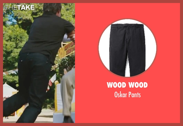 Wood Wood black pants from Little Fockers seen with Ben Stiller (Greg Focker)