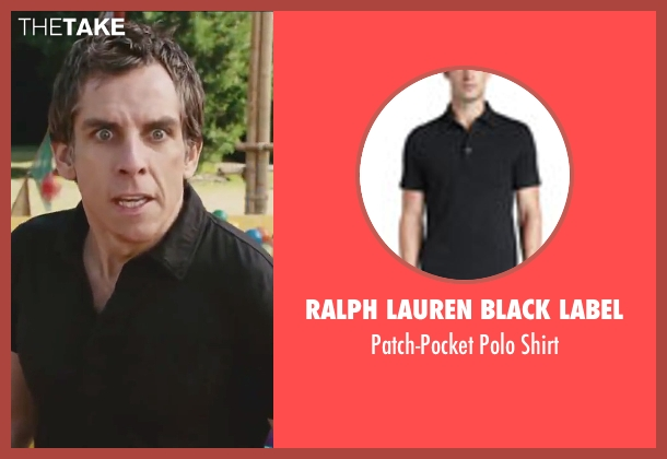 Ralph Lauren Black Label black shirt from Little Fockers seen with Ben Stiller (Greg Focker)