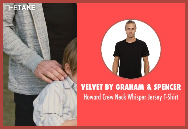 Velvet by Graham & Spencer black t-shirt from Little Fockers seen with Ben Stiller (Greg Focker)