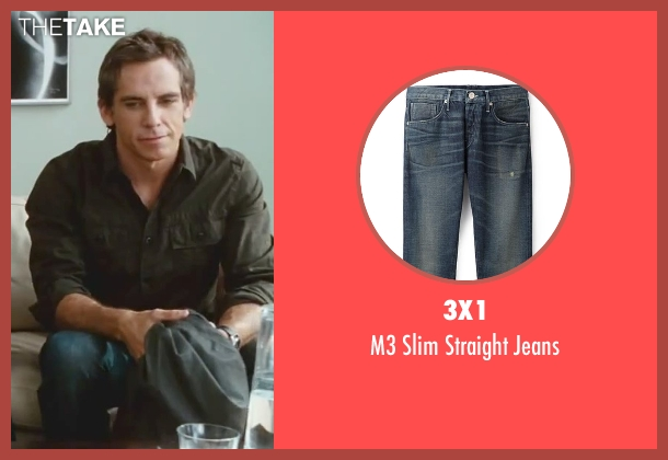 3x1 blue jeans from Little Fockers seen with Ben Stiller (Greg Focker)