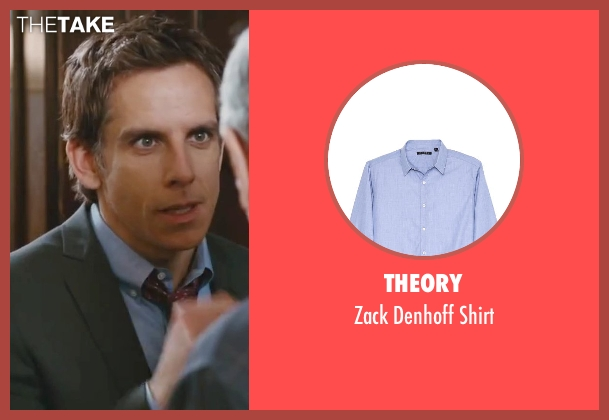 Theory blue shirt from Little Fockers seen with Ben Stiller (Greg Focker)