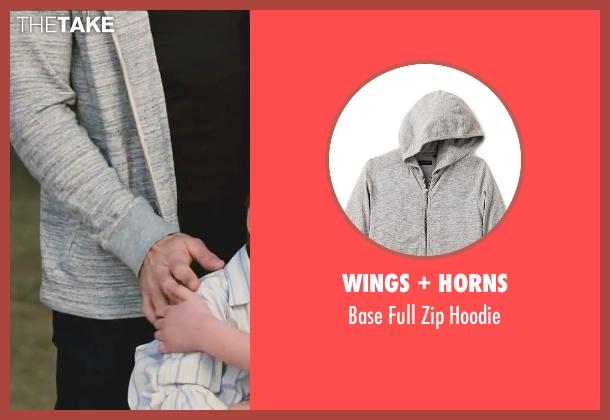 Wings + Horns gray hoodie from Little Fockers seen with Ben Stiller (Greg Focker)