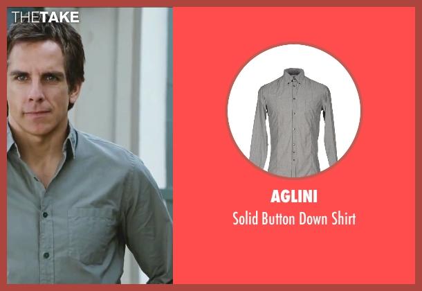 Aglini gray shirt from Little Fockers seen with Ben Stiller (Greg Focker)