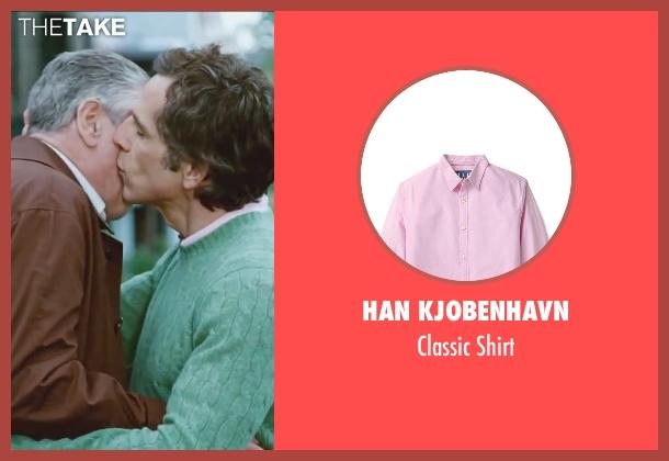 Han Kjobenhavn pink shirt from Little Fockers seen with Ben Stiller (Greg Focker)
