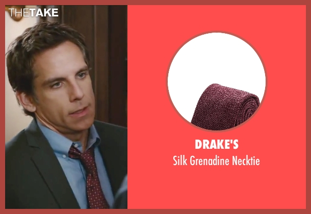 Drake's red necktie from Little Fockers seen with Ben Stiller (Greg Focker)