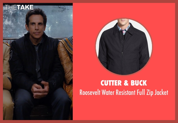 Cutter & Buck black jacket from Night at the Museum: Secret of the Tomb seen with Ben Stiller (Larry Daley)