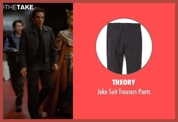Theory black pants from Night at the Museum: Secret of the Tomb seen with Ben Stiller (Larry Daley)