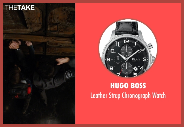 Hugo Boss black watch from Night at the Museum: Secret of the Tomb seen with Ben Stiller (Larry Daley)