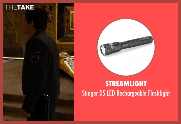 Streamlight flashlight from Night at the Museum: Secret of the Tomb seen with Ben Stiller (Larry Daley)