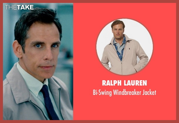 Ralph Lauren beige jacket from The Secret Life of Walter Mitty seen with Ben Stiller (Walter Mitty)